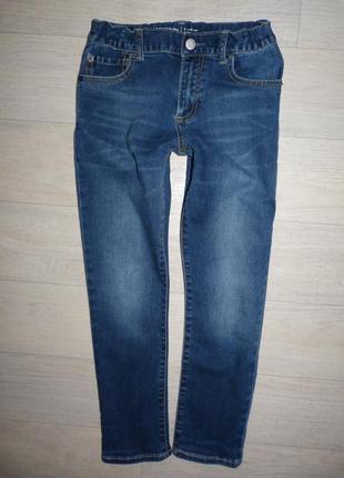 Стрейчевые джинсы gap 8 лет