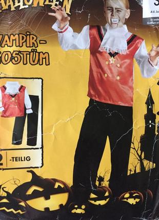 Карнавальный детский костюм на мальчика 4 6 лет хеллоуин