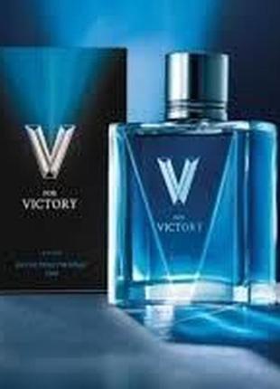 Туалетна вода avon v for victory (75 мл)