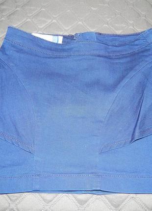 Джинсовая мини-юбка bershka
