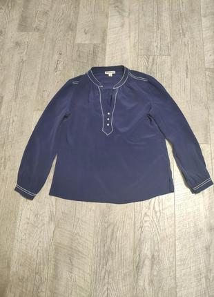 Шелковая рубашка шелк 100% шёлк