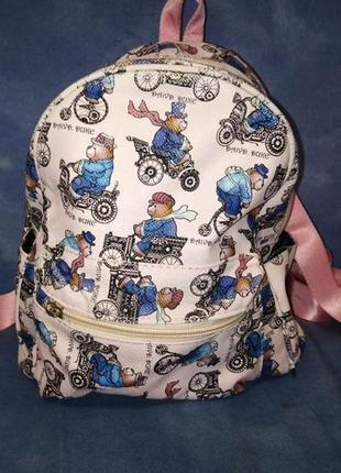 Міський рюкзачок для дівчинки