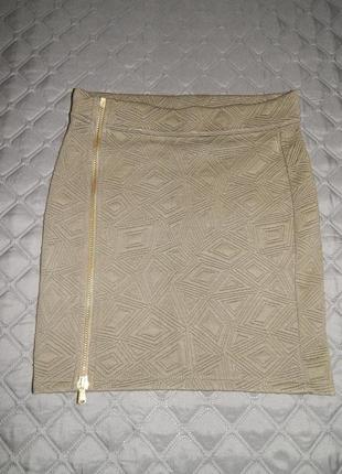 Трендовая теплая юбка stradivarius