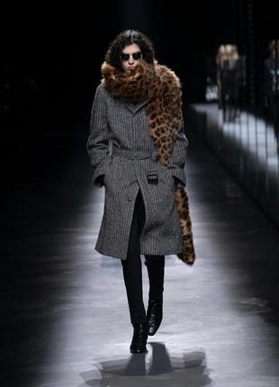 Ysl  yves saint laurent винтажное пальто шерсть