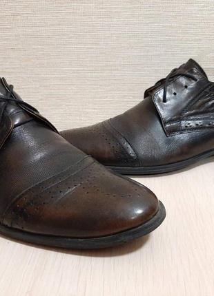 Кожаные туфли,туфлі от nord plus wall street collection✔