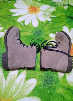 Ботинки кожаные catwalk