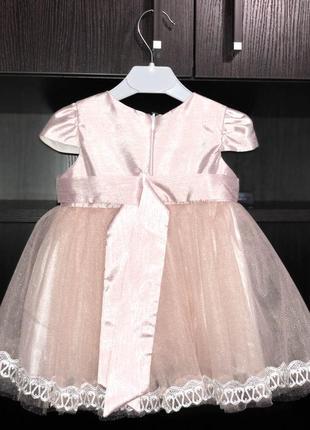 Нежное платье для маленькой принцессы