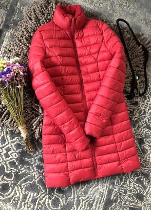 Актуальная удлиненная теплая куртка дутик chicoree