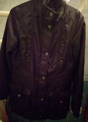 Пальто с плащевки