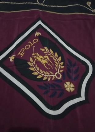 Polo ralph lauren шелковый платок оригинал