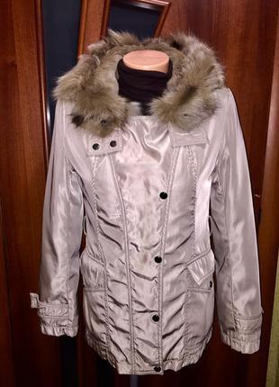 Куртка зимняя  с натуральным мехом до -20*