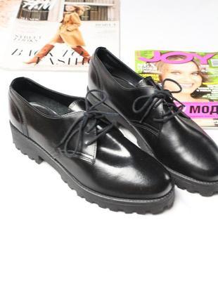 Новые лоферы на платформе 40 размер женские лоферы на шнурках esprit