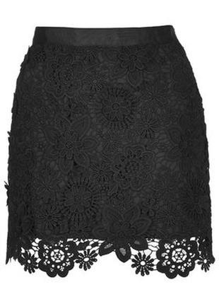 Ажурная юбка topshop