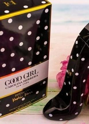 Женская парфюмированная вода carolina herrera good girl dot drama, 80 мл