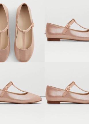 Туфли, босоножки для девочки манго mango