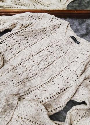 Вязаный свитер пуловер джемпер atmosphere