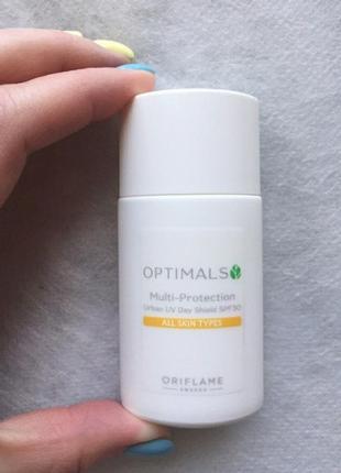 Мультизащитный дневной крем для лица spf 30