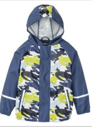 Новый дождевик, прорезиненая куртка, лупилу, германия, 98-104