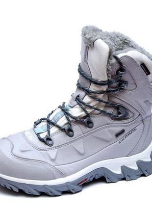 Ботинки salomon nytro gore-tex. стелька 25 см