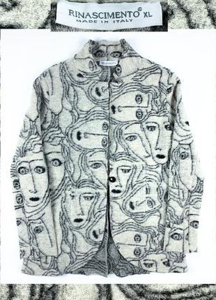 Rinascimento blazer женский пиджак шерсть куртка