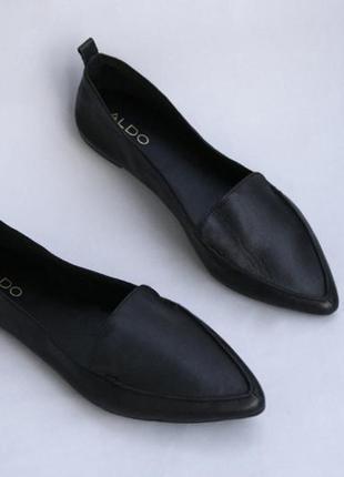 Суперкомфортные кожаные туфли лоферы 27,5см