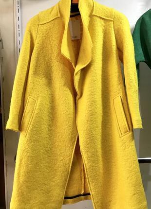 Пальто из валяной шерсти