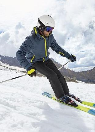 Лыжные мужские crivit зимние термо перчатки краги водонепроницаемые р 8,5 9 9,5