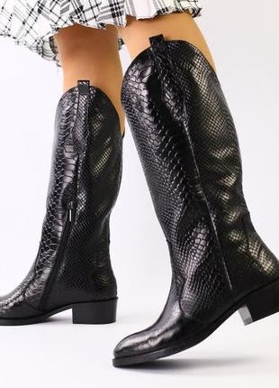 Lux обувь! крутые натуральные сапоги зимние