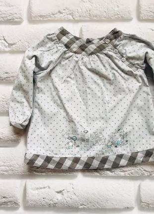 Matalan стильная блузка на девочку   12 мес