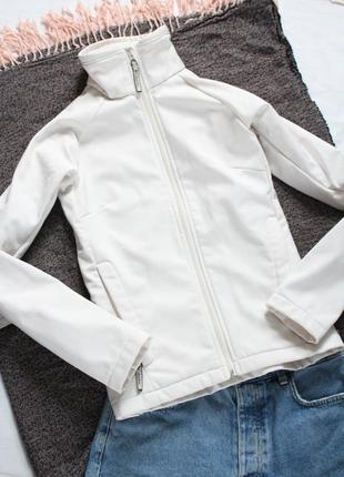 Бежевая куртка ветровка columbia 34 36 размер