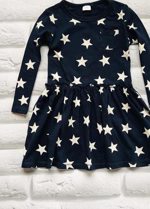 Next стильное платье на девочку   2-3 года