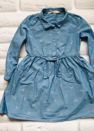 Young dimension  стильное платье на девочку 3-4 года