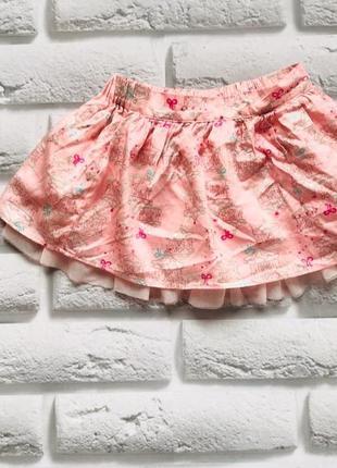 George  красивая юбка на девочку 9-12 мес