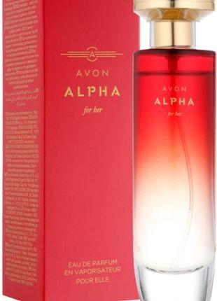 Парфюмированная вода женская alpha