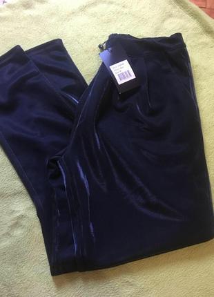 Мега крытые фирменные штаны с серебристым отливом sisters point