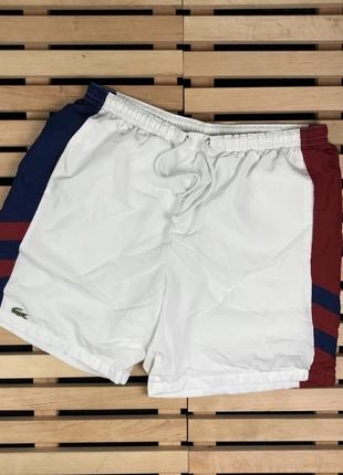Супер крутые мужские шорты lacoste sport размер l