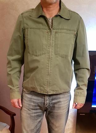 Куртка gap оригінал зелена casual