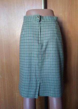 Итальянская тёплая юбка шерсть