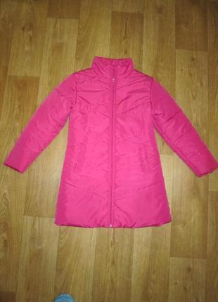 Пальто, удлиненная куртка на 9-10 лет