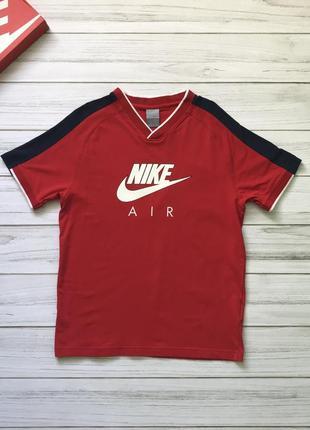 Красная футболка майка nike original