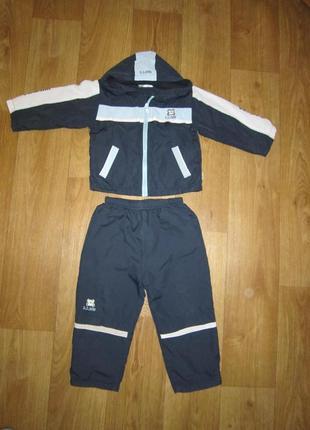 Спортивный костюм на флисена 3-4 года