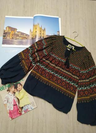 Красивейшая блуза pepe jeans в стиле бохо, оригинал. блуза в этно стиле, рубашка, кофта
