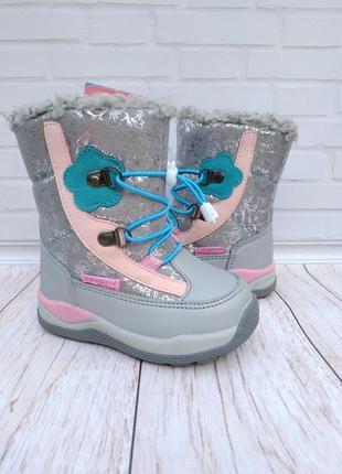 Зимние ботинки на девочку том.м