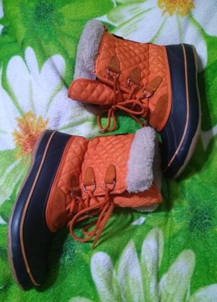 Зимние термо сапоги kamik,чоботи,дутики, сноубутси