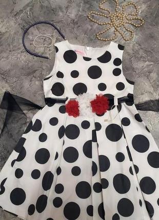 Миленькое нарядное платьице ninita kids