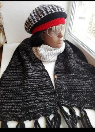 Крутой брэндовый стильный шарф