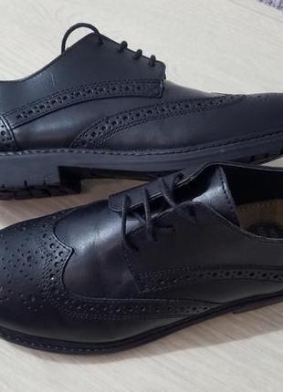 George кожаные туфли броги оксфорд  eur 33  uk 1