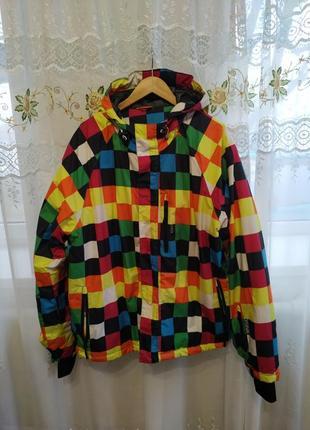 Горнолыжная термо куртка большого размера