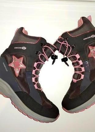 Зимние ботинки, сапоги, снегоходы geox с мембраной amphibiox 36 р.