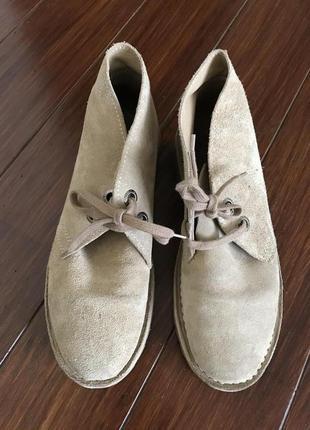 Bata safari, замшевые ботинки! р.-40